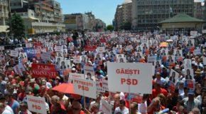 PSD a ales Târgoviștea pentru ultimul mare miting din campania europarlamentarelor. S-au alăturat social-democrați din Prahova, Argeș, Călărași