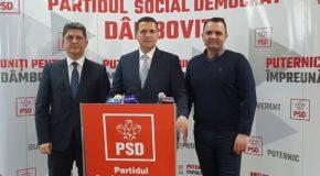 Reorganizare în PSD Dâmbovița după mai mult de un an de probleme. Noua conducere anunță schimbări radicale și… normale.