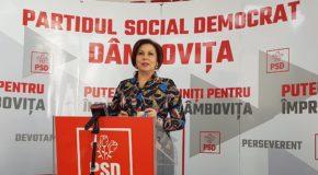 """Deputat PSD de Dâmbovița, Carmen Holban: """"Unde e responsabilitatea politică? Unde e responsabilitatea socială? Merită sacrificată o țară pentru un om?"""""""