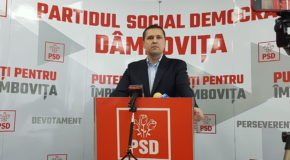 PSD Dâmbovița: Florin Cîțu fuge de responsabilitate! Liberalul și-a depus mandatul de premier desemnat și prelungește criza politică și instituțională în mijlocul unei pandemii care afectează și România.