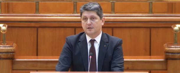 Vicepreședintele Senatului, senatorul PSD Titus Corlățean, intervenție în plen privind semnalările Consiliului Național al Românilor din Ucraina, țară care se pregătește de o reformă administrativă