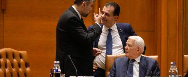 """""""S-a umplut paharul!"""" PSD depune luni, 17 august, moțiunea de cenzură împotriva Guvernului Orban."""