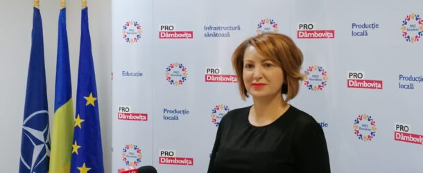 """Deputatul Oana Vlăducă explică motivele pentru care și-a asumat o candidatură pentru un post de senator. """"Eu am fost cea care a venit cu ideea de a candida la Senat. Pro România poate să câștige în Dâmbovița, cu multă muncă și cu multă determinare, doi parlamentari"""""""