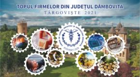 Reușită în afaceri. 493 de companii din județ s-au clasat pe primul loc în Topul Firmelor din Dâmbovița 2021 realizat de Camera de Comerț, Industrie și Agricultură