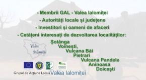 """Asociația G.A.L """"Valea Ialomiței"""" anunță prelungirea sesiunii de depunere a proiectelor aferente Măsurii 413-322"""